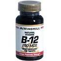 Windmill Health Products B-12, 250 mcg- 100 tab