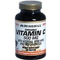 Windmill Health Products C with Rosehips, 500 mg- 100 tab