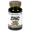 Windmill Health Products Zinc Gluc, 50 mg- 100 tab