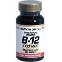 Windmill Health Products Vit B-12, 1000 mcg- 100 tab