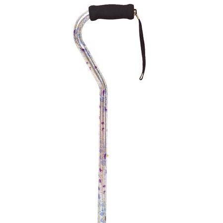 Designer offset Cane,  Morning Glory, 1 ea