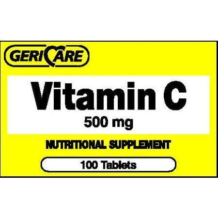 Vitamin C, 500 mg- 100 ea