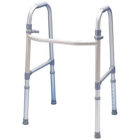Dual Paddle Folding Walker,  Adult, 1 ea