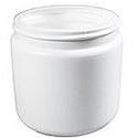 Owens White Ointment Jar, Plastic, 12 Units 2 oz
