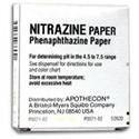Nitrazine Paper Roll with Dispenser Urinalysis Test, 1- ROLL, 1 ea