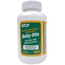 Vite Vitamins Tablets With Iron And Beta Carotene, 1000 tab