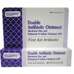 Fougera & Co. Bacitracin Zinc And Polymyxin B Sulfate Ointment, Double Antibiotic Ointment Generic Polysporin Ointment, 1 oz