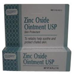Fougera & Co. Zinc Oxide Ointment Protects Chaffed Skin, 1 oz