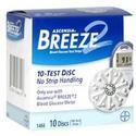 Ascensia Breeze 2 Blood Glucose Test Strips 1466, 100 ea
