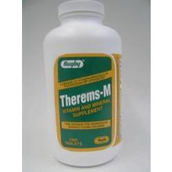 Watson Pharma Therems M Mineral Supplement Tablets, 1000 tab