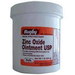 Watson Pharma Zinc Oxide Ointment by Rugby, 1 lbs