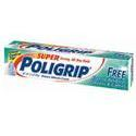 Poli-Grip Super Poli-Grip Denture Adhesive Cream Free of Artificial Flavors and Colors, STR HOLD, 2.4 oz