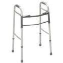 Sunrise Medical Guardian Easy Care Folding Walker for Adults 30755P, No Wheels, 1 ea