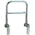 Carex Health Dual Level Bathtub Rail,  Lvl Chrome, 1 ea