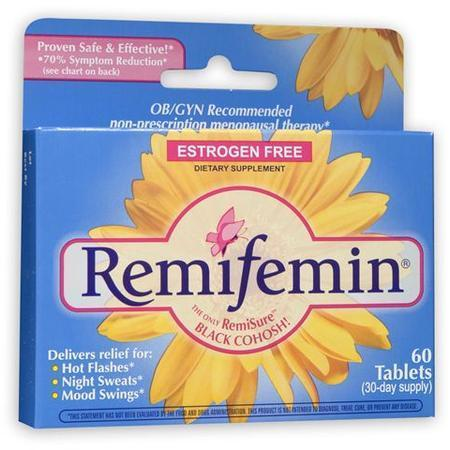 Remifemin Menopause Herbal Supplement, 60 tab