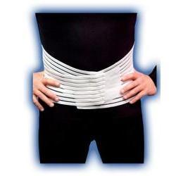 Bell Horn Lumbo-Sacral Support Low Contour,  White Medium, 1 ea