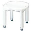 Carex Health Bath Bench Composite B670-00,  without Back, 1 ea