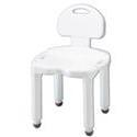 Carex Health Bath Bench Composite Model B671,  with Back, 1 ea