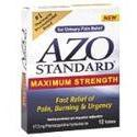 Amerifit Nutrition AZO Standard For Urinary Pain Relief Maximum Strength, 12 caps - PlanetRx