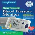 LifeSource Quick Response Auto Inflate Blood Pressure Digital Monitor with Easy-Fit cuff, INFL MD, 1 ea