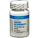 Consolidated Midland Sodium Bicarbonate, 10 Grain, 100 tab