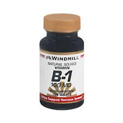 Windmill Health Products B-1 100 Mg, 100 tab