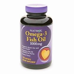 Natrol Omega-3 150 Purified Fish Oil,  1000 mg- 90 gel caps