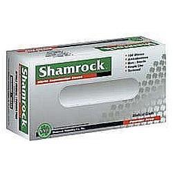 Shamrock Latex Powder Glove,  Medium, 100 unit