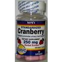Basic Vitamins                 Standardized Cranberry, 250 mg- 60 soft gels