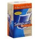 Safeguard Bath Bar, 4 Units 4 oz