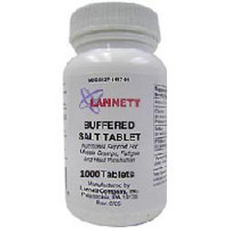 Lannett Co Inc Sodium Chloride, 1000 tab