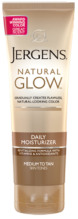 Jergens Natural Glow Daily Moisturizer, Medium to Tan, 7.5 oz