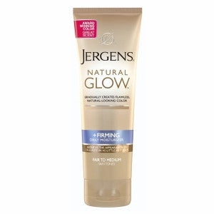 Jergens Natural Glow +Firming Daily Moisturizer, Fair to Medium, 7.5 oz