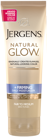 Jergens Natural Glow +Firming Daily Moisturizer, Medium to Tan, 7.5 oz