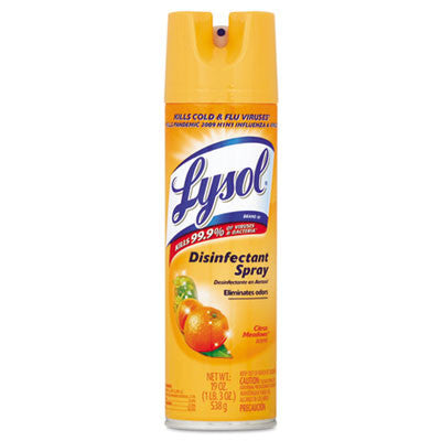 Lysol Disinfectant Spray, Citrus Meadow, 12.5oz