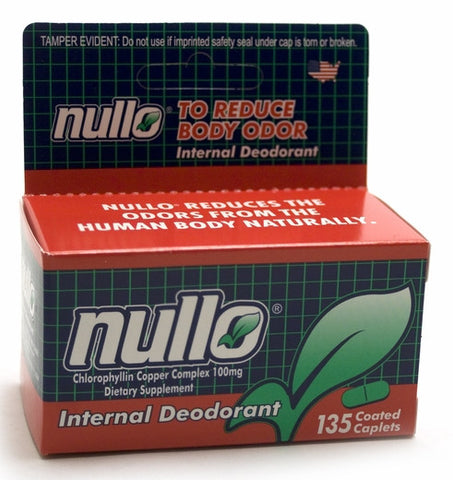 Nullo Deodorant Tablets, 135 Tablets