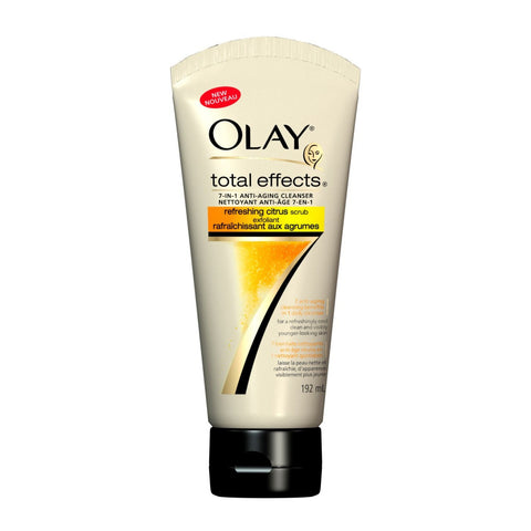 Olay Total Effects Refreshing Scrub, Citrus, 6.5 oz