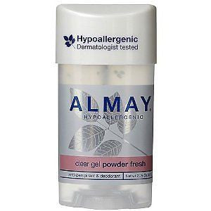 Almay Anti-Perspirant & Deodorant, Clear Gel, Powder Fresh, 2.25 oz - PlanetRx