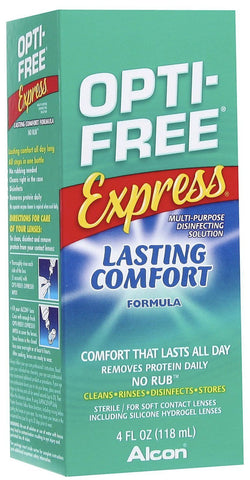 Opti-Free Express Disinfection Solution, 4 oz