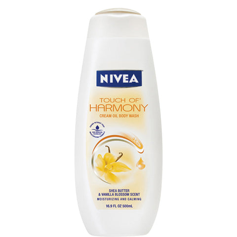 Nivea Body Wash Touch of Harmony Cream Oil, 16.9 oz