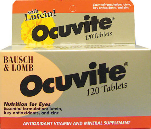 Bausch & Lomb Ocuvite Nutrition For Eyes, 120 tab