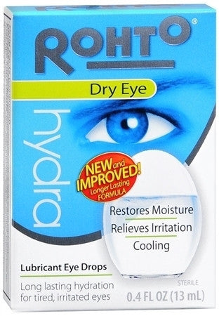 Rohto Hydra Cooling Dry Eye Reliever, 13 ml