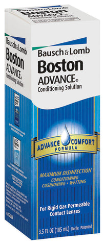 Bausch & Lomb Boston Advance Conditioning Solution,  Comfort Formula, 3.5 oz