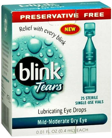 Blink Tears, 25 ea