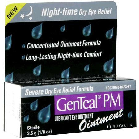 GenTeal  PM Lubricant Eye Ointment, 3.5 gram