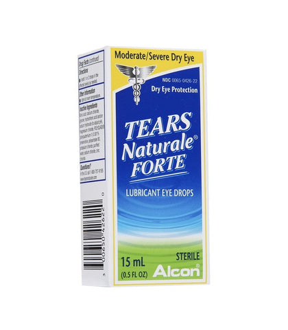 Tears Naturale Forte Lubricant Eye Drops, 15 ml, LIMITED QUANTITY REMAINING