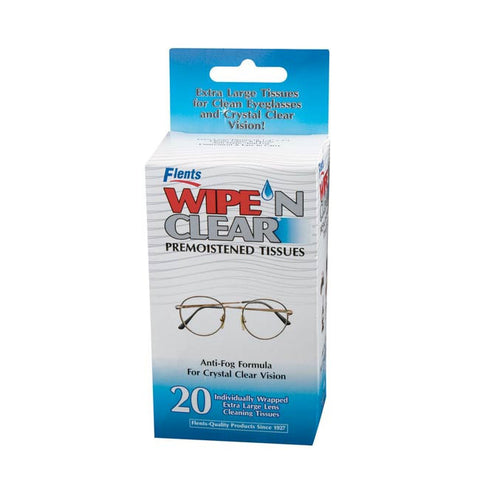 WipeN Clear Lens Cleaner Pack, 1 pack
