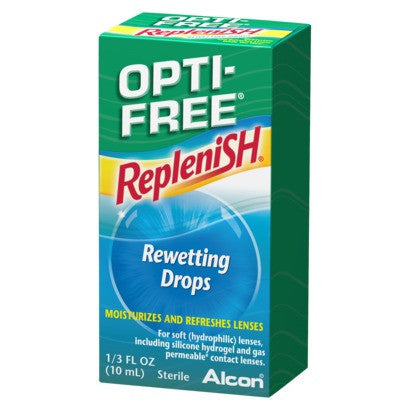 Opti-Free Replenish Rewetting Drops, 10 ml