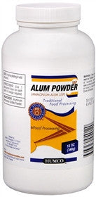 Alum Powder Deodorant Foot Powder, 12 oz - PlanetRx