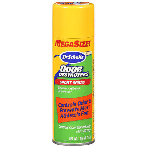 Dr. Scholls Odor Destroyers Sport Spray, 4.7 oz